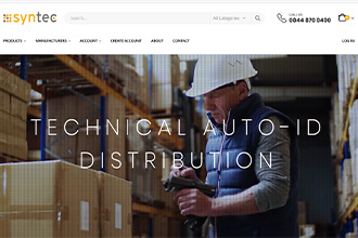 Picture of syntec-disti.co.uk distribution website