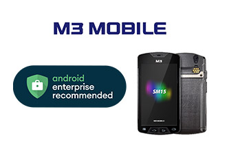 M3 SM15 Android Enterprise Recommended